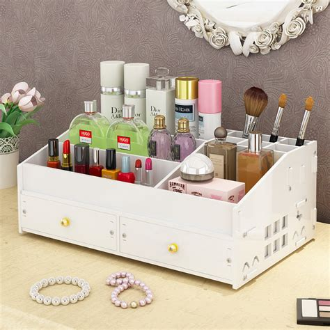 Diy Makeup Organizer Wooden