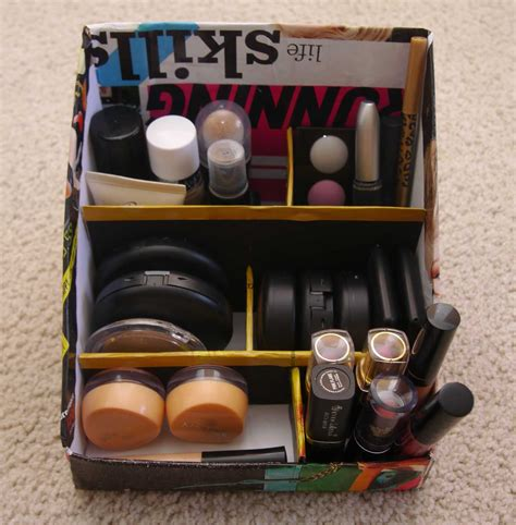 Diy Makeup Storage Organizer
