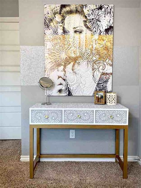 Diy Makeup Vanity Stool
