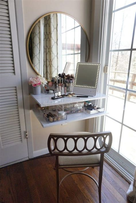 Diy Makeup Vanity Table For Small Spaces