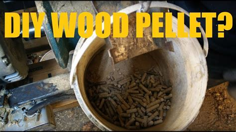 Diy Making Wood Pellets