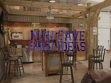 Diy Man Cave Ideas Shed