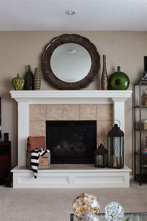 Diy Mantel Without Fireplace Ideas