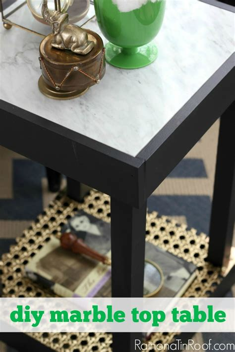 Diy Marble Top Table