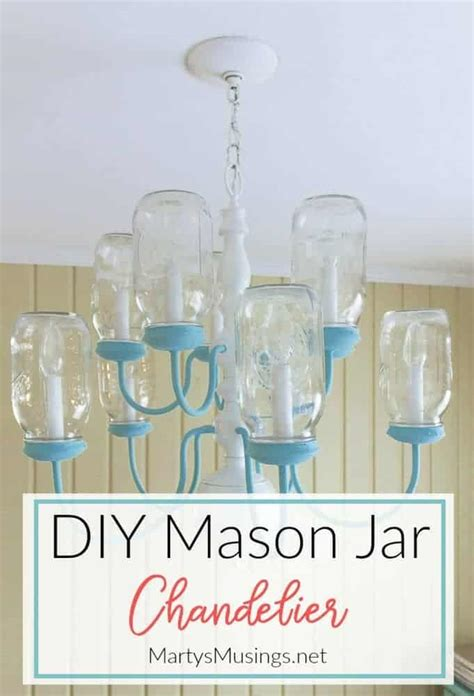 Diy Mason Jar Chandelier Step By Step