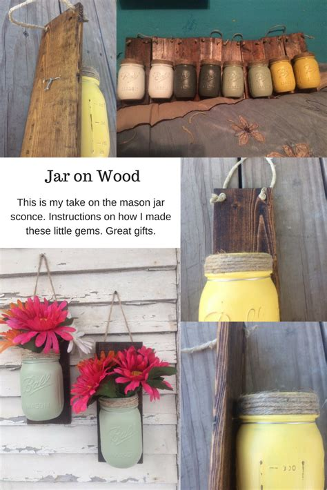 Diy Mason Jar Lights Scrap Wood Projects