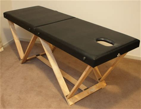 Diy Massage Table Plans