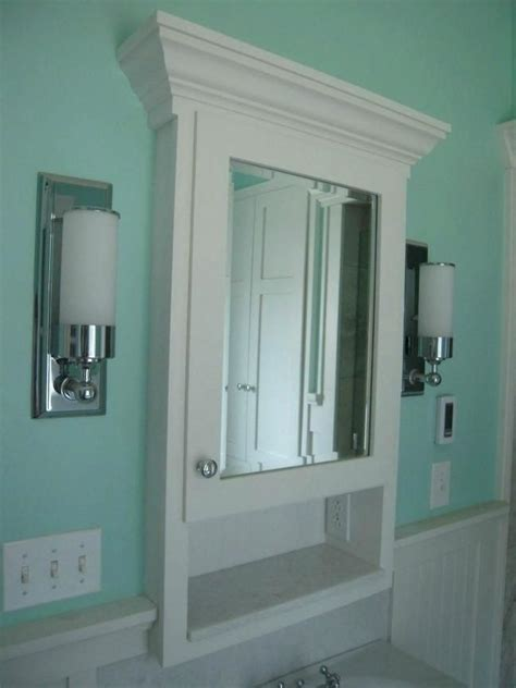 Diy Medicine Cabinets For Bathroom