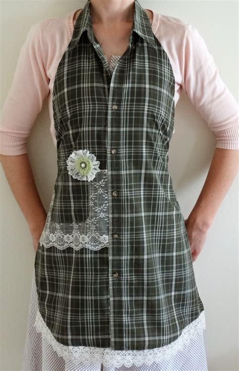 Diy Mens Shirt Apron