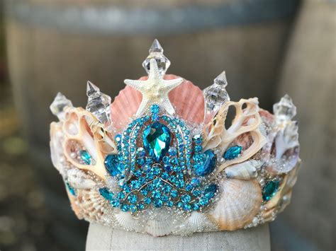 Diy Mermaid Shell Crown