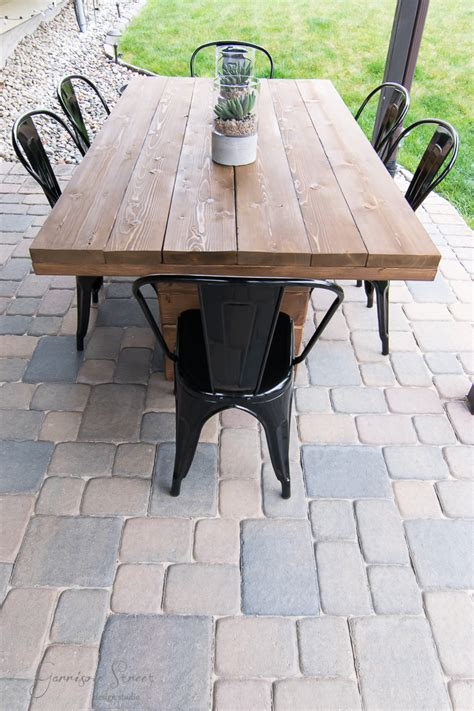 Diy Metal And Wood Dining Table