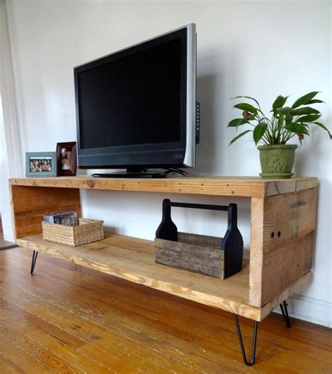 Diy Metal And Wood Tv Stand
