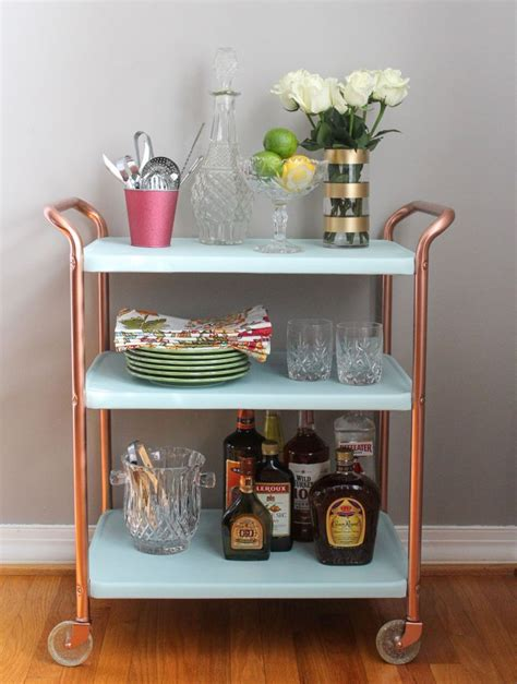 Diy Metal Bar Cart