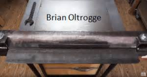 Diy Metal Brake Brian Oltrogge