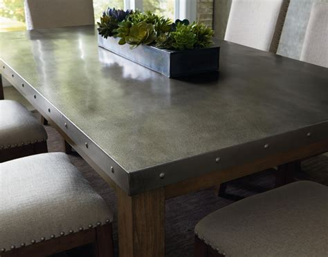 Diy Metal Dining Table Top
