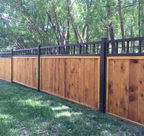 Diy Metal Framed Privacy Fence