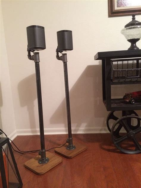 Diy Metal Pipe Speaker Stands