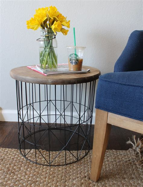 Diy Metal Side Table
