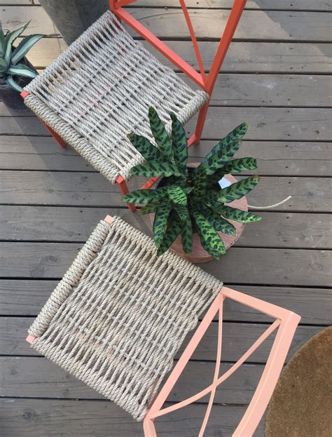 Diy Mexican String Chairs