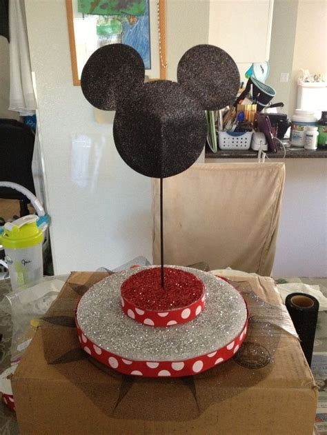 Diy Mickey Mouse Cake Pop Stand