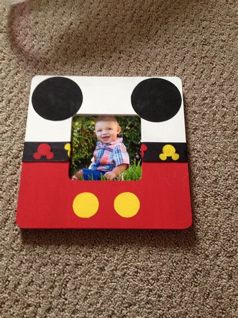 Diy Mickey Mouse Picture Frames