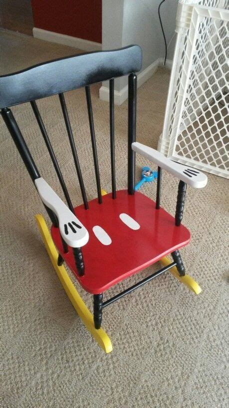 Diy Mickey Mouse Rocking Chair