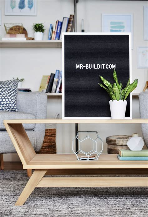 Diy Mid Century Modern Sofa Plans