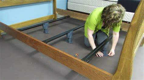 Diy Middle Bed Frame Support Feet