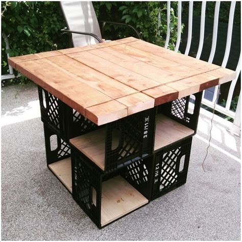 Diy Milk Crate