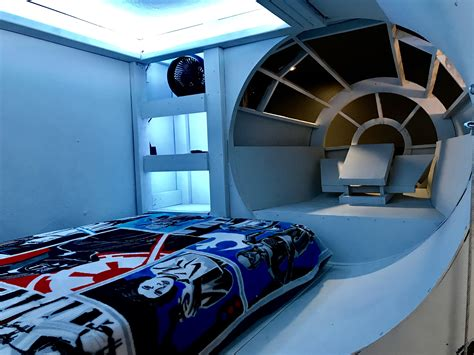 Diy Millennium Falcon Bed Set