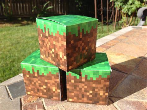 Diy Minecraft Box