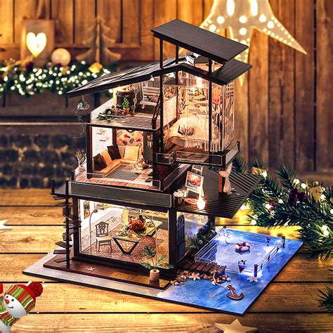 Diy Mini Dollhouse Kits