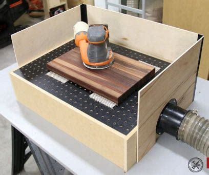 Diy Mini Downdraft Table Workstation