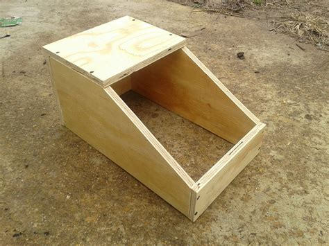 Diy Mini Rabbit Nest Box