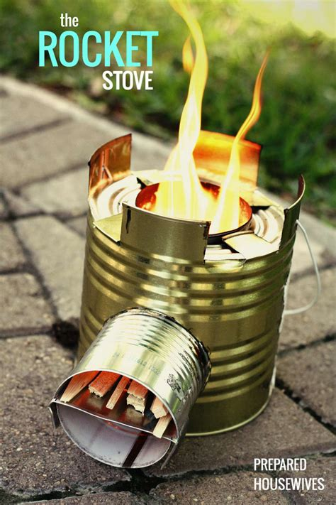 Diy Mini Rocket Stove