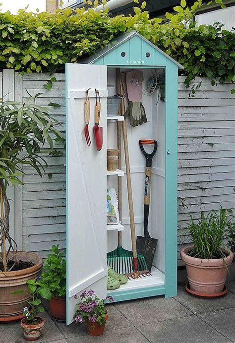 Diy Mini Storage Shed