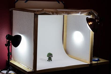 Diy Mini Studio Box Square