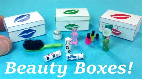 Diy Miniature Beauty Box