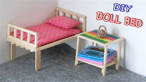 Diy Miniature Doll Bed