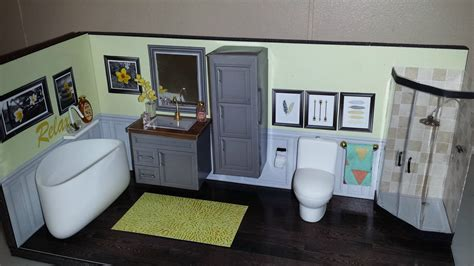 Diy Miniature Dollhouse Bathroom