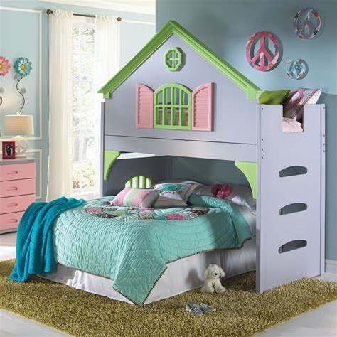 Diy Miniature Dollhouse Bunk Bed Bedroom Decorating
