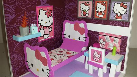 Diy Miniature Hello Kitty Bedroom