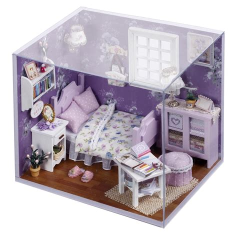 Diy Miniature Wood Dollhouse Furniture