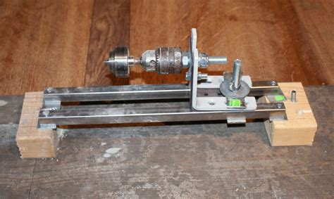 Diy Miniature Wood Lathe