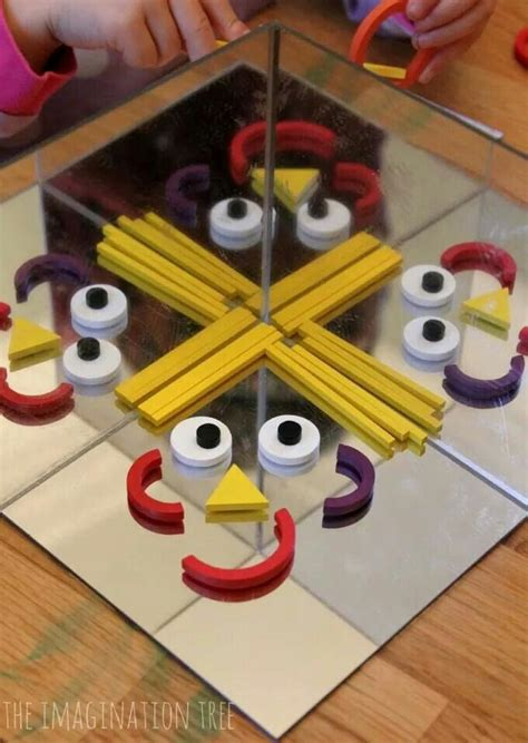 Diy Mirror Box Play For Kids
