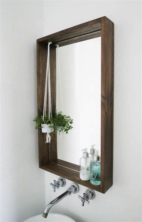 Diy Mirror Boxed Frame