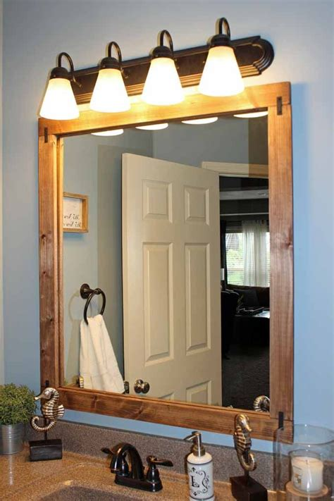 Diy Mirror Frame To Hang