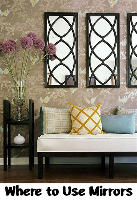 Diy Mirror Wall Ideas