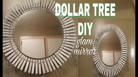 Diy Mirror Wall With Dollar Tree Mirrors