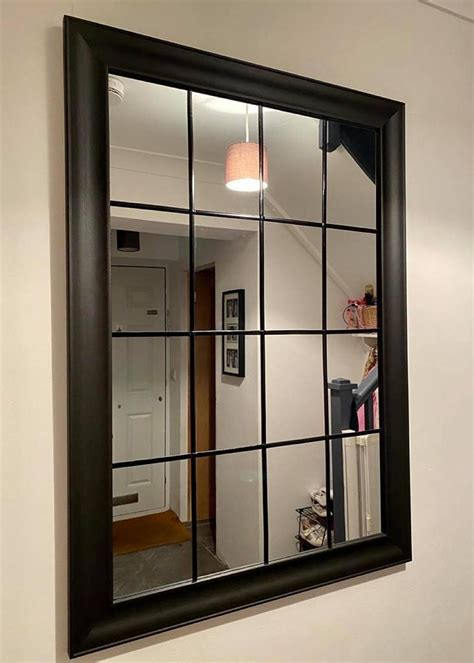 Diy Mirrored Window